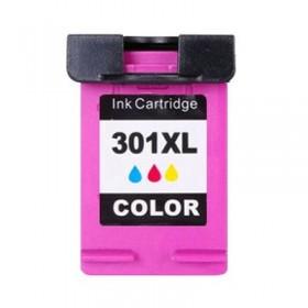 Compatible HP 301 XL  Couleur  Cartouche  Remanufacturée   Grande Capacité