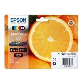 Pack Cartouche Origine EPSON - 5 Couleurs - T3337