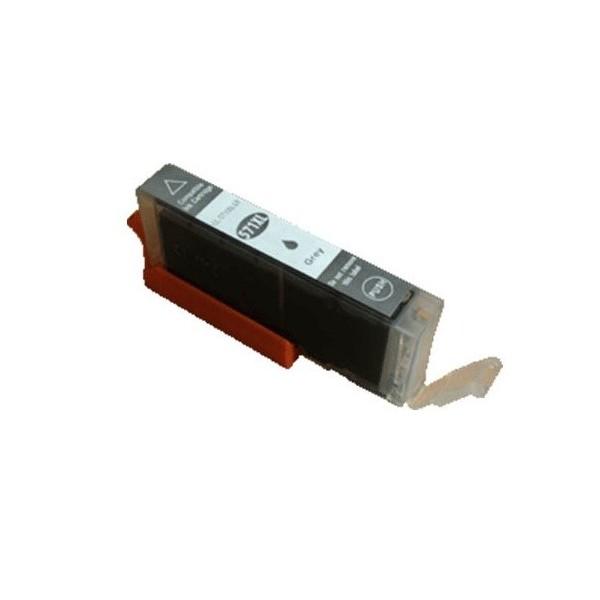 Cartouche Compatible CANON  CLI-571 GY XL Gris