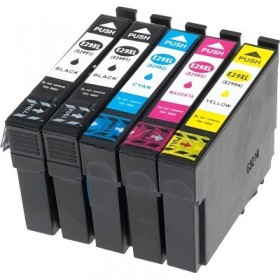 cartouches encre imprimante Epson XP-445 LOT de 5