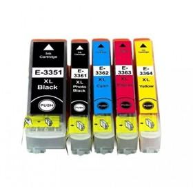 Cartouches encre imprimante Epson XP-540 Lot de 5