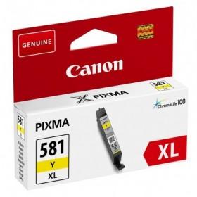 Cartouche encre compatible Canon CLI-581 XL Jaune haute capacité