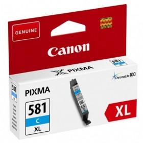 Cartouche encre compatible Canon CLI-581 XL Cyan haute capacité