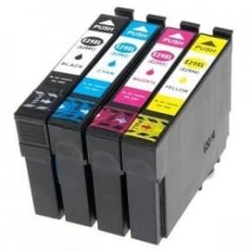 Pack de 4 cartouches encre compatibles Epson T2996 Noir et Couleurs