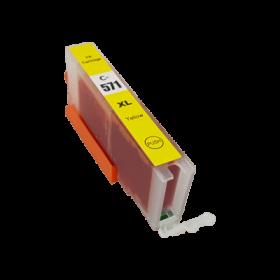 Cartouche Compatible CANON CLI-571 Y XL  Jaune