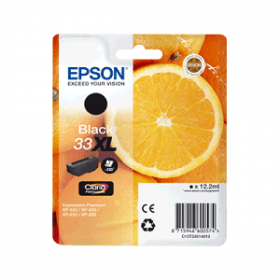 Cartouche encre Origine EPSON - Noir - T3351XL - C13T33514012