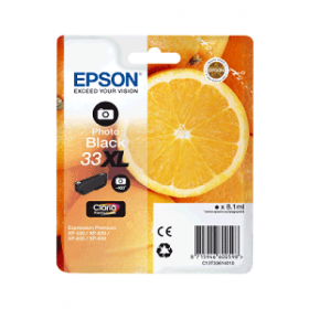 Cartouche encre Origine EPSON - Noir Photo - T3361 XL - C13T33614012