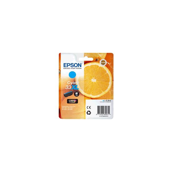 Cartouche Origine EPSON - Cyan - T3362XL - C13T33624012