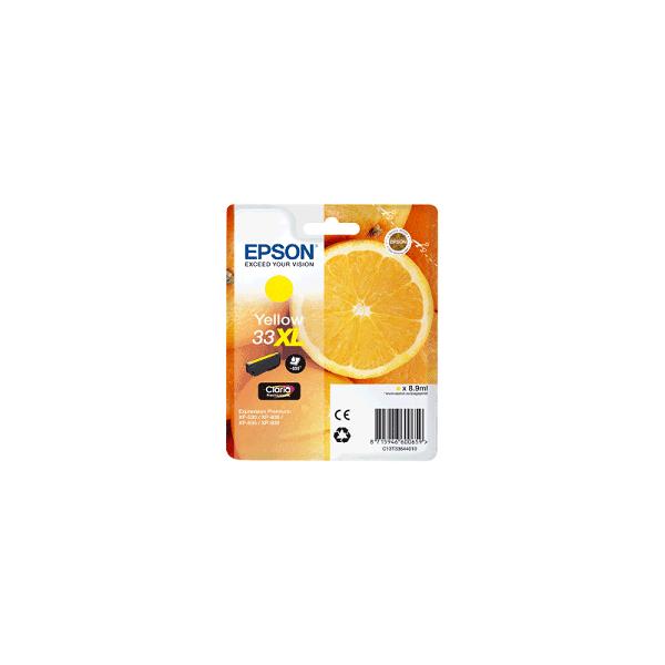 Cartouche Origine EPSON - Jaune - T3364XL - C13T33644012