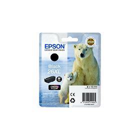 Cartouche d'encre EPSON 26XL Noir de haute capacité