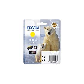 Cartouche d'encre EPSON 26XL Jaune haute capacité