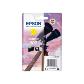 Epson 502 Cartouche d'encre jaune originale C13T02V44010