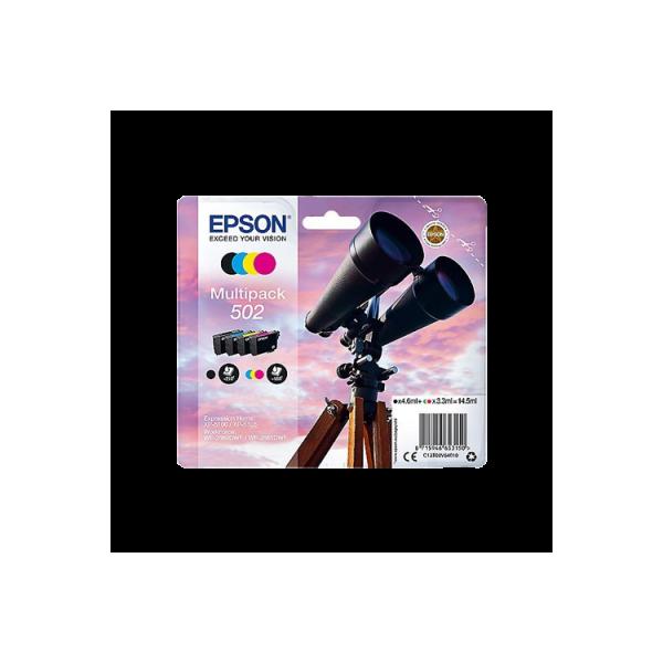 Epson 502XL Cartouche d'encre jaune origine - C13T02W34010