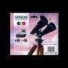 Epson 502 Noire et Couleurs Pack de 4 cartouches origine