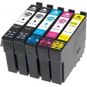 cartouches encre compatibles Epson T2996 - pack de 5 - Noir et Couleurs