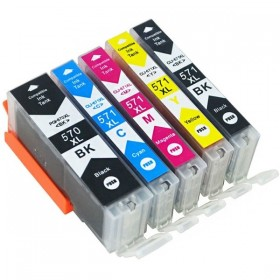 Cartouches encre Compatible Canon PGI-570/CLI-571 XL