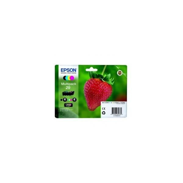 Pack Cartouche Origine EPSON - 4 Couleurs - T2986