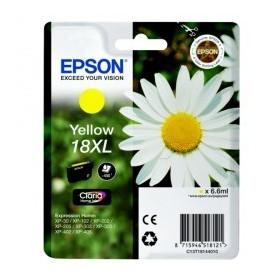 Cartouche encre EPSON 18XL Jaune haute capacité