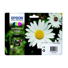 Epson T1816XL, 18XL  Pack de 4 cartouches encre originales