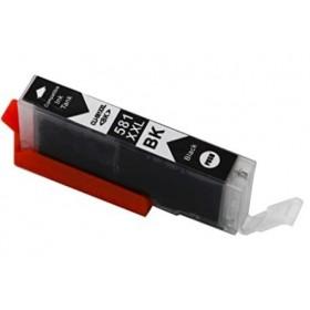 Cartouche encre compatible Canon CLI-581 XL Noir  haute capacité