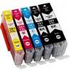 Cartouches encre Compatible Canon PGI-580XXL / CLI-581XXL Haute Capacité