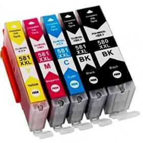 Cartouches encre Imprimante Canon Pixma TR7550 Haute Capacité