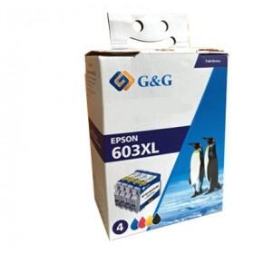 Epson 603XL Pack cartouches d'encre compatibles - Marque G&G