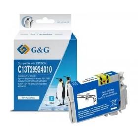 Epson T29XL Fraise compatible - Grande capacité - Cyan - cartouche d'encre