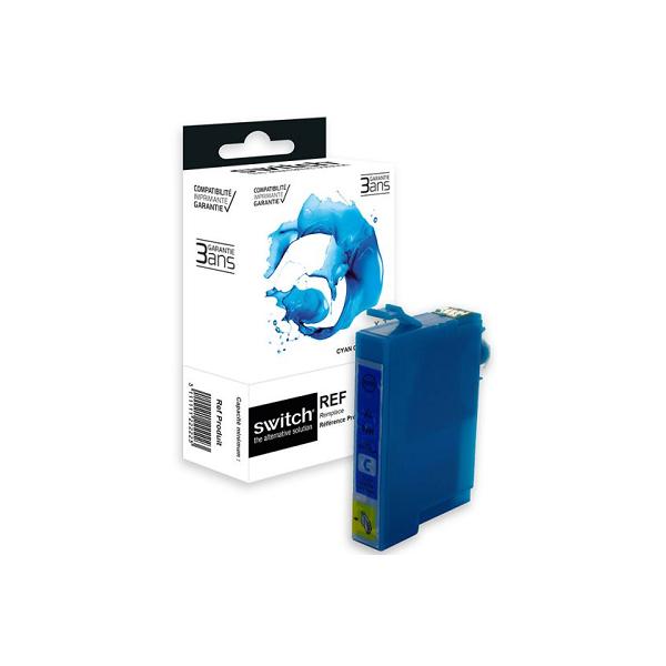 Cartouche Premium Compatible Epson 29XLC Fraise - Cyan - Marque SWITCH