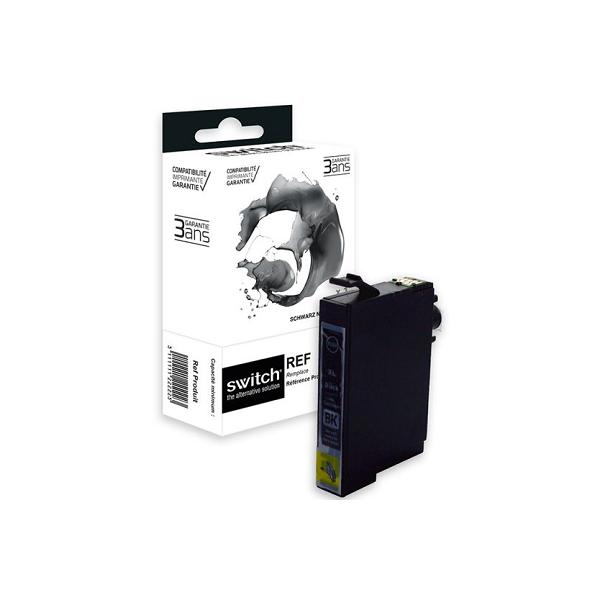 Cartouche Premium Compatible Epson 29XLB Fraise - Noir - Marque SWITCH