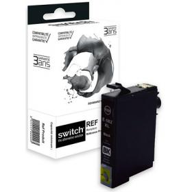 Cartouche d'encre compatible Epson 502 XL Noir - Marque Switch