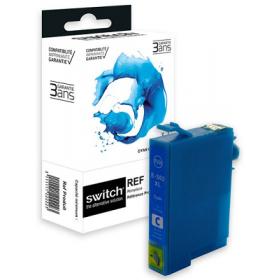 Cartouche d'encre compatible Epson WF-2860 WF-2865 DWF -  XL -  Cyan - Marque Switch