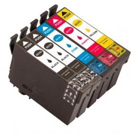 Epson Workforce WF-2810 WF-2830 WF-2835 WF-2850 cartouche d'encre Noir- Couleurs  ( 2x18ml + 3x14ml)