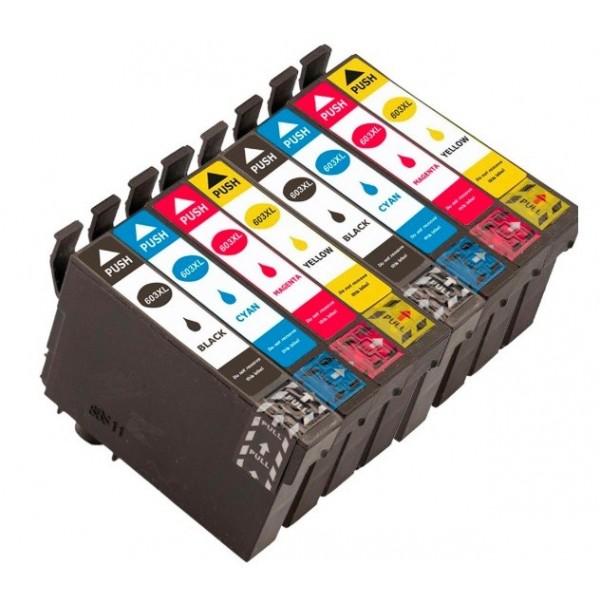 Epson 603XL Pack + 1 Noir cartouches d'encre compatibles Grande Capacité