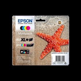 Epson Workforce WF-2810 WF-2830 WF-2835 WF-2850 pack cartouches d'encre originale XL